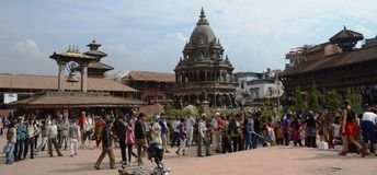 Ancient city of Patan - Nepal Stock Photos