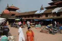 Ancient city of Patan - Nepal Royalty Free Stock Image