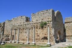 Ancient City of Perge. Near Antalya Turkey royalty free stock images