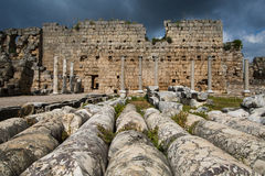 Ancient city of Perge Royalty Free Stock Photos