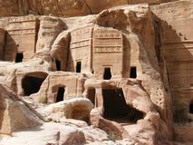 The ancient city of Petra Stock Photo