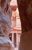 The ancient city of Petra, Jordan. Stock Images