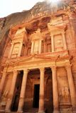 The ancient city of Petra, Jordan Royalty Free Stock Photo