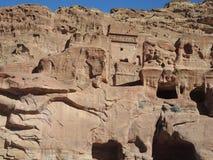 The ancient city of Petra Stock Photos