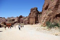 The ancient city of Petra. Jordan. Stock Photos