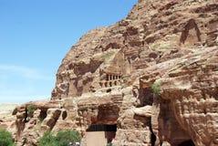 The ancient city of Petra. Jordan. Royalty Free Stock Image