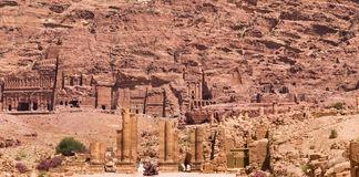 Ancient City of Petra, Jordan Stock Image