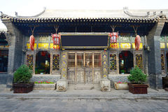 The ancient city of Pingyao Ancient Buildings Stock Image