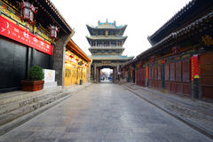 The ancient city of Pingyao Ancient Buildings Royalty Free Stock Images