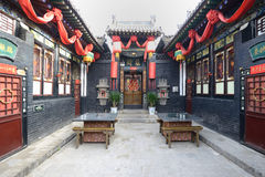 The ancient city of Pingyao Ancient Buildings Stock Images