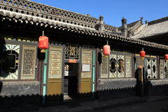 The ancient city of Pingyao stock images