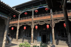 The ancient city of Pingyao. In China stock images