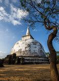 Ancient City of Polonnaruwa. Kiri Vehera Dagoba in the Ancient City of Polonnaruwa, UNESCO World Heritage Site, Sri Lanka, Asia Stock Photos