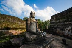 Ancient City of Polonnaruwa. Photo of the Vatadage (Circular Relic House) in Polonnaruwa Quadrangle, UNESCO World Heritage Site, Sri Lanka, Asia Stock Images