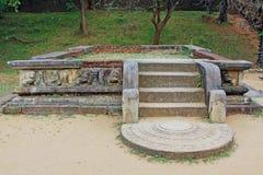 Ancient City of Polonnaruwa`s Kumara Pokuna Royal Bath - Sri Lanka UNESCO World Heritage Royalty Free Stock Photos