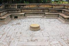Ancient City of Polonnaruwa`s Kumara Pokuna Royal Bath - Sri Lanka UNESCO World Heritage Royalty Free Stock Images
