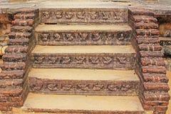 Ancient City of Polonnaruwa`s Lankatilaka Temple - Sri Lanka UNESCO World Heritage. Polonnaruwa was the second capital of Sri Lanka after the destruction of Royalty Free Stock Images