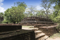 The Ancient City of Polonnaruwa Royalty Free Stock Image