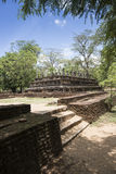 The Ancient City of Polonnaruwa Royalty Free Stock Photo