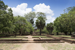 The Ancient City of Polonnaruwa Stock Photo