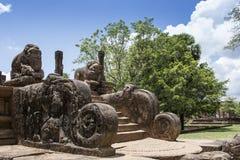 The Ancient City of Polonnaruwa Royalty Free Stock Photos