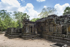 The Ancient City of Polonnaruwa Royalty Free Stock Images