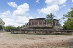 The Ancient City of Polonnaruwa Royalty Free Stock Photography