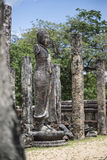 The Ancient City of Polonnaruwa Stock Photography