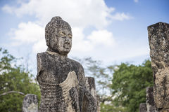 The Ancient City of Polonnaruwa Stock Image
