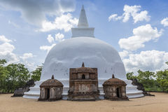The Ancient City of Polonnaruwa Stock Photos