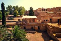 Ancient city of Pompeii, Italy. Royalty Free Stock Image