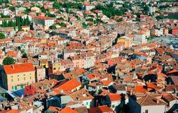 Ancient city of Rovinj Royalty Free Stock Photography