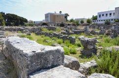 Ancient city ruins Kos, Greece Royalty Free Stock Images