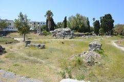 Ancient city ruins Kos, Greece Royalty Free Stock Photos