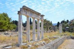 Ancient city ruins Kos, Greece. Ancient city ruins in the islend of Kos, Greece Royalty Free Stock Photo