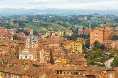 Ancient city of Siena Royalty Free Stock Photography