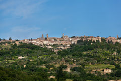 Ancient city of Siena Royalty Free Stock Images