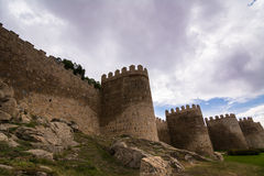 Ancient city stone walls Stock Photography