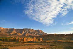 Ancient city of Tamnougalt in Morocco Royalty Free Stock Photos