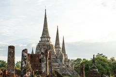 The ancient city of Thailand Stock Photos