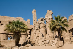 Ancient city of Thebes Stock Image