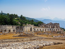 The ancient city of Tlos Royalty Free Stock Photography