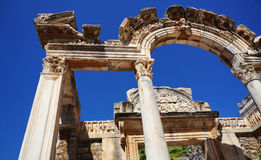The ancient city of Turkey, Ephesus Royalty Free Stock Photo