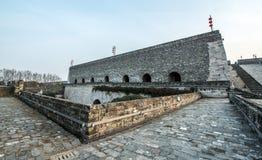 Ancient city wall, Nanjing, China Royalty Free Stock Images