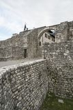 Ancient City Wall in Venzone Royalty Free Stock Image