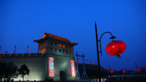 Ancient City wall of Xi'an,China Stock Photos
