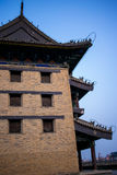 The ancient city wall in Xi`an, China Stock Photography