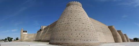 Ancient city walls stock image