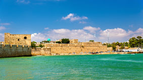 Ancient City Walls of Acre - Israel Royalty Free Stock Photography