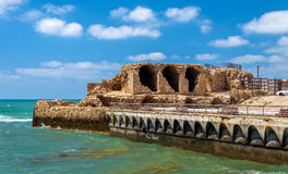 Ancient City Walls of Acre - Israel Royalty Free Stock Photos